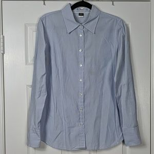 J.Crew Slim Fit Kathryn Pinstripe Button Down